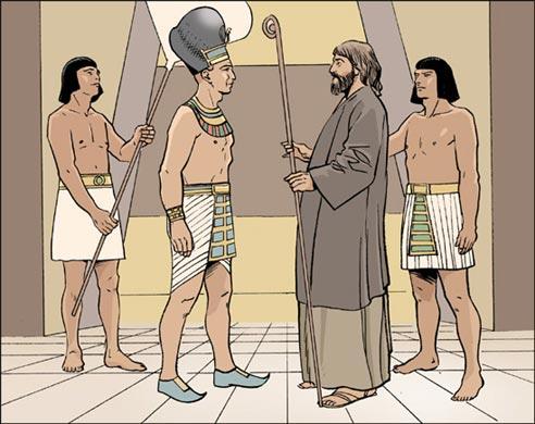 Moïse et Pharaon